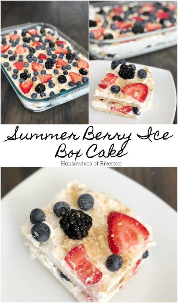 Summer Berry Ice Box Cake   www.housewivesofriverton.com