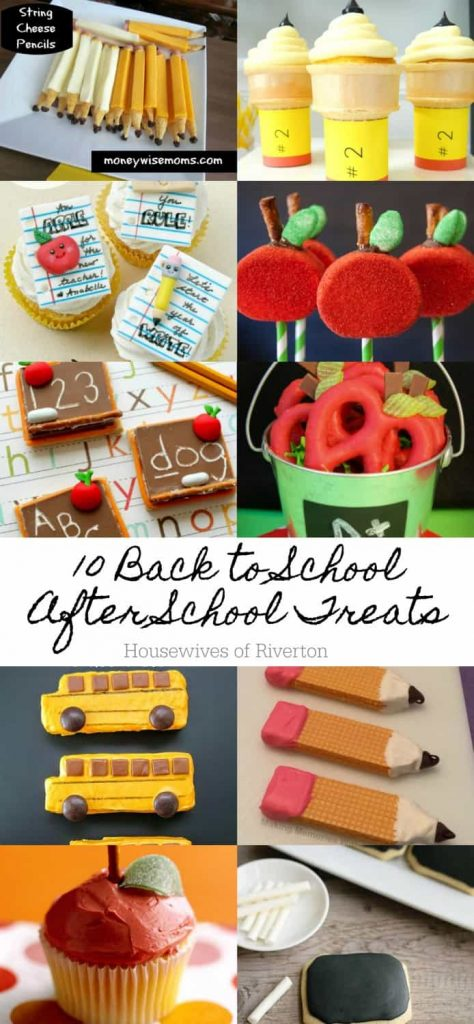 10 Back to School After School Treats
