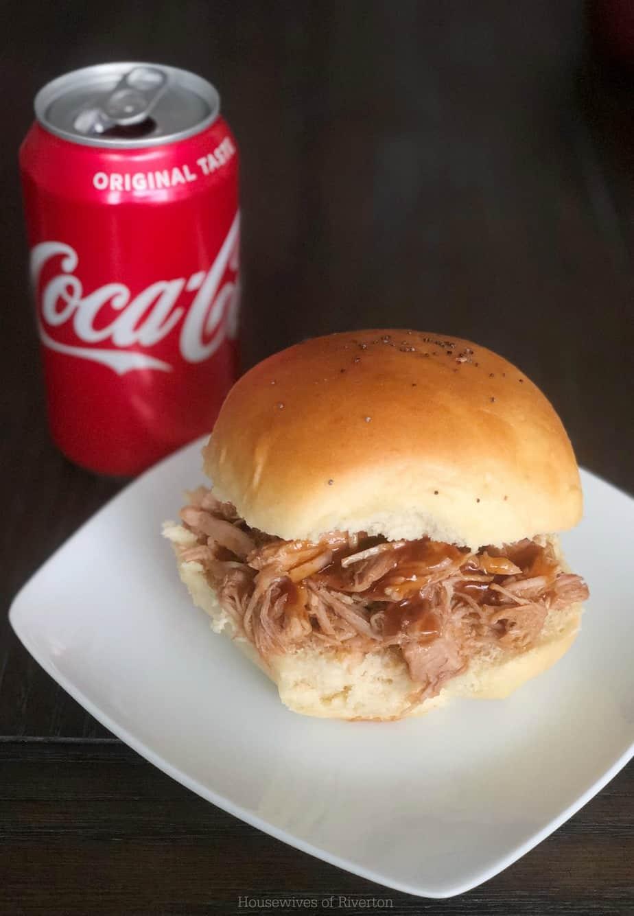 Coca Cola BBQ Pulled Pork Slider | www.housewivesofriverton.com