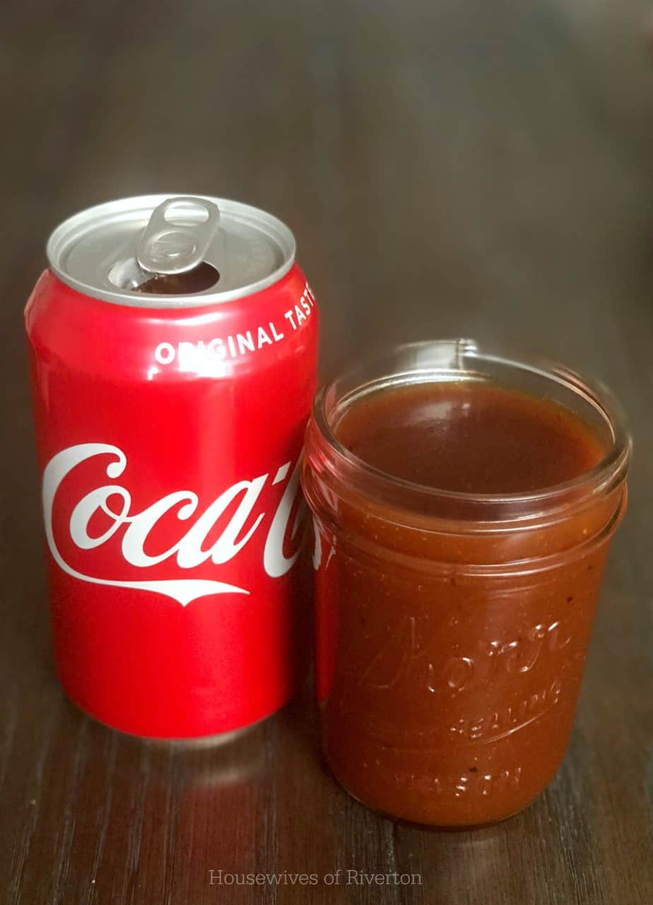 Coca Cola BBQ Sauce | www.housewivesofriverton.com