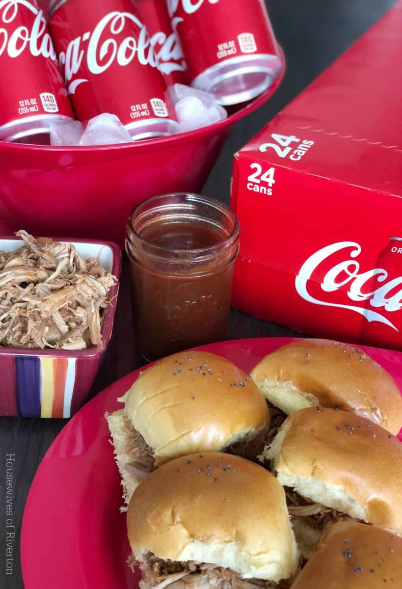 Coca-Cola BBQ Pulled Pork Sliders | www.housewivesofriverton.com