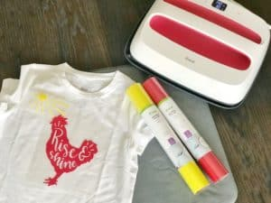 Rise and Shine DIY Tee | www.housewivesofriverton.com