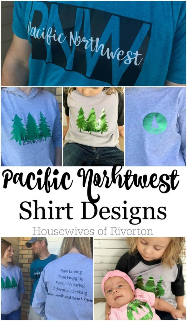 DIY Pacific Northwest Shirt Designs (PNW)