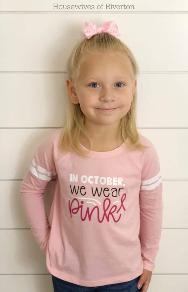 Breast Cancer Awareness Shirt | www.housewivesofriverton.com