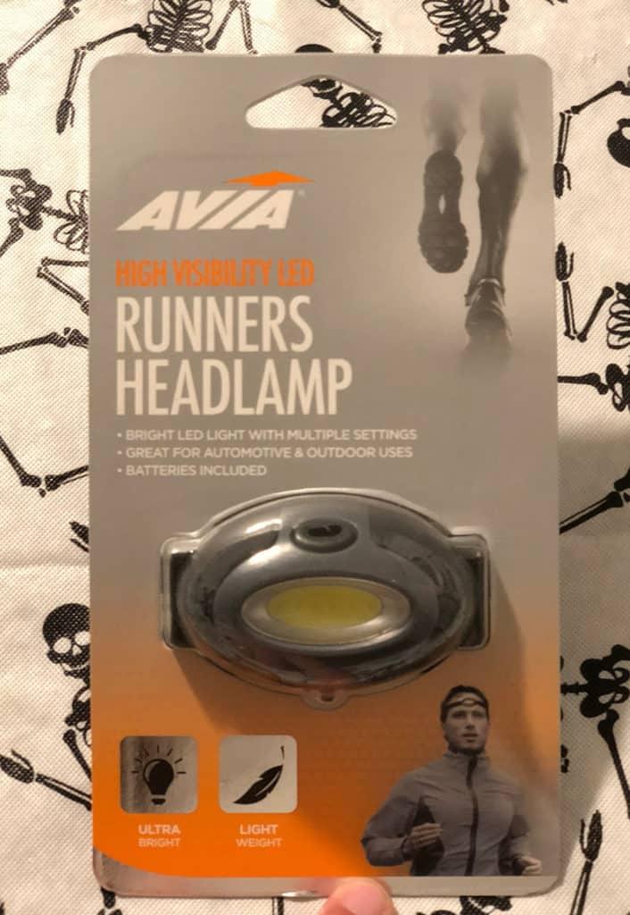 Runner's Headlamp Halloween Safety Tips | www.housewivesofriverton.com