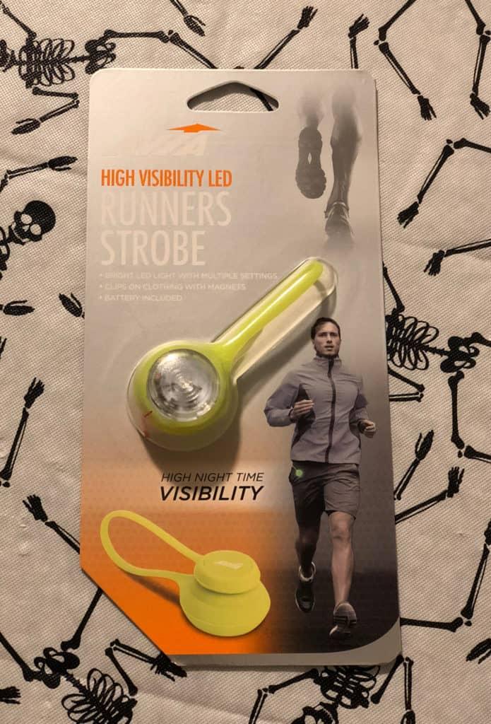Runner's Strobe Halloween Safety Tips | www.housewivesofriverton.com