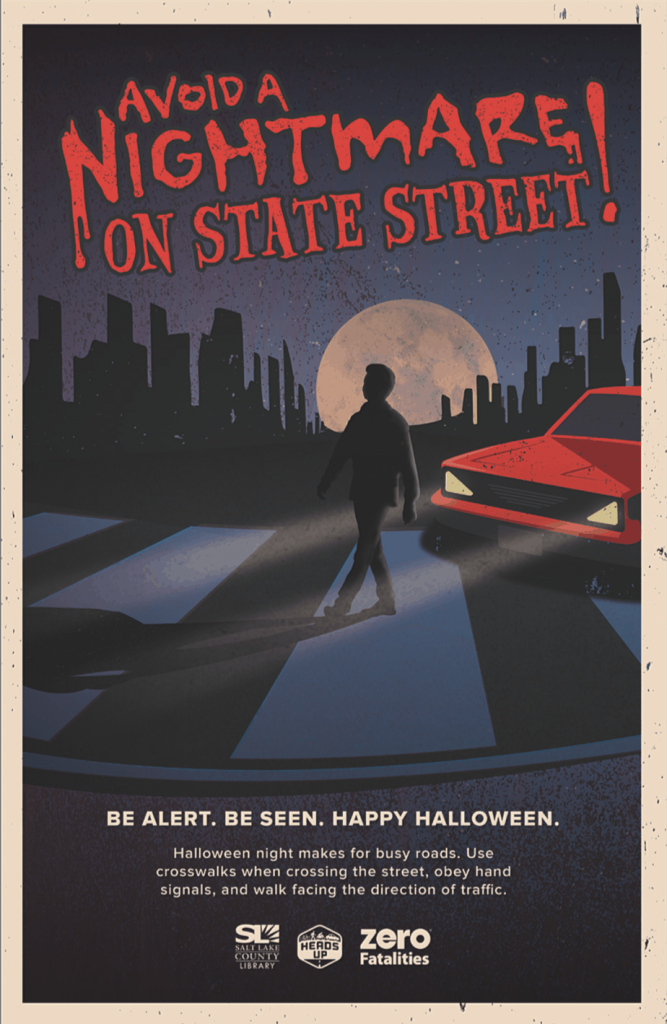 Zero Fatalities Poster Halloween Safety Tips | www.housewivesofriverton.com