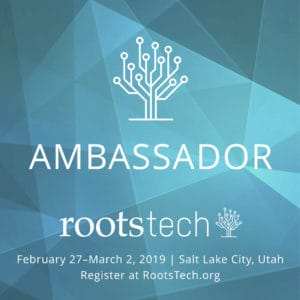 RootsTech Salt Lake City 2019 Ambassadors and Giveaway | www.housewivesofriverton.com