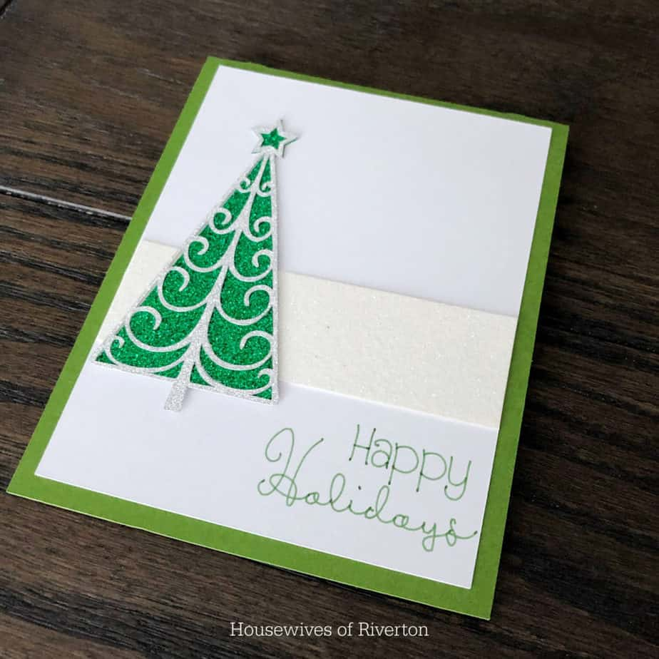 Diy Christmas Cards With Cricut Housewives Of Riverton