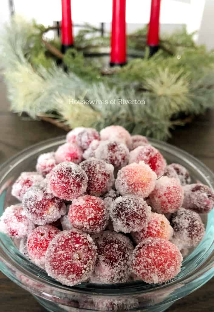 Sugared Cranberry Recipe | www.housewivesofriverton.com