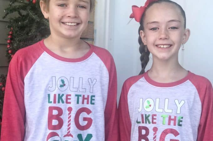 DIY Boy and Girl Christmas Shirts - housewivesofriverton.com
