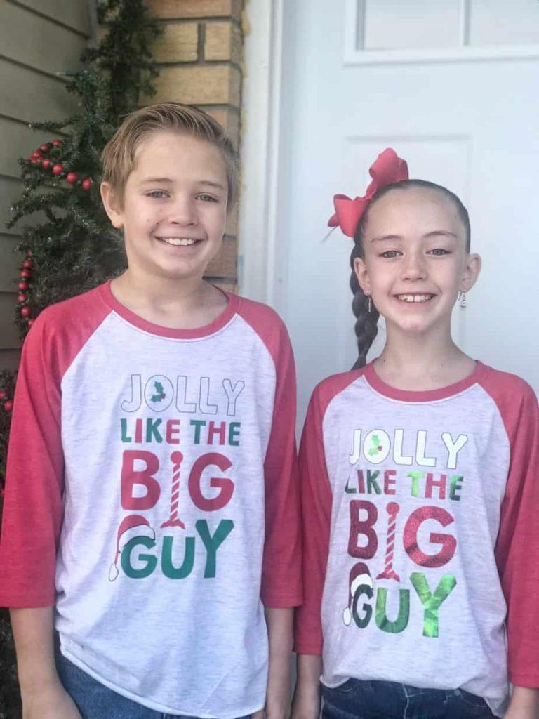 DIY Boy and Girl Christmas Shirts - housewivesofriverton.com