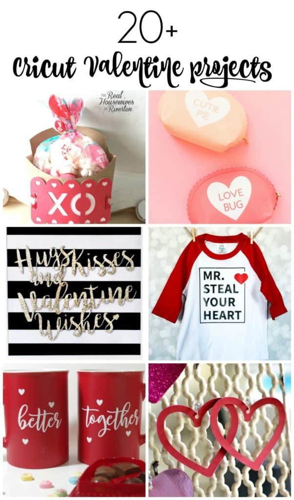 20+ Cricut Valentine Projects