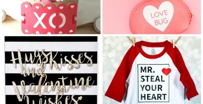 20+ Cricut Valentine Projects