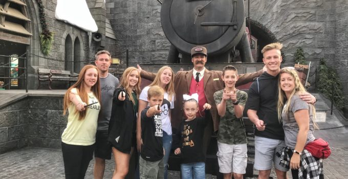 The Crookston Family's First Trip to Universal Studios Hollywood