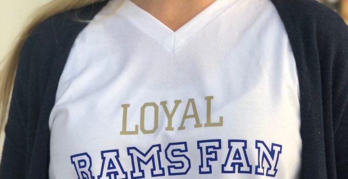 Rams Fan Super Bowl Shirt