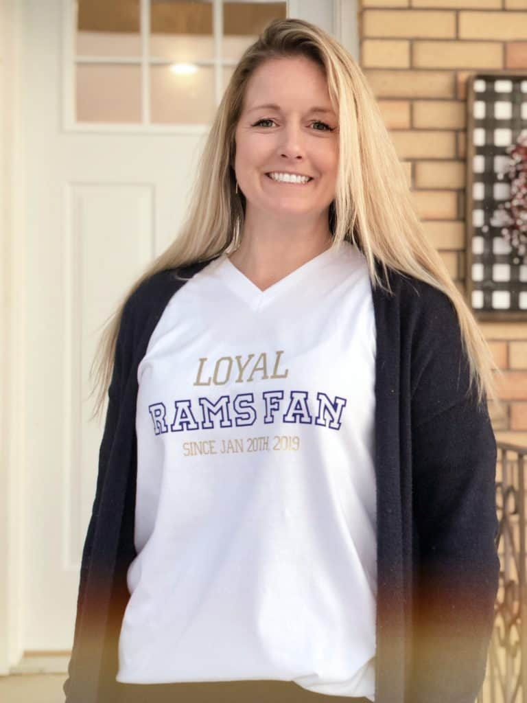 Loyal Rams Fan Super Bowl Shirt | www.houseswivesofriverton.com