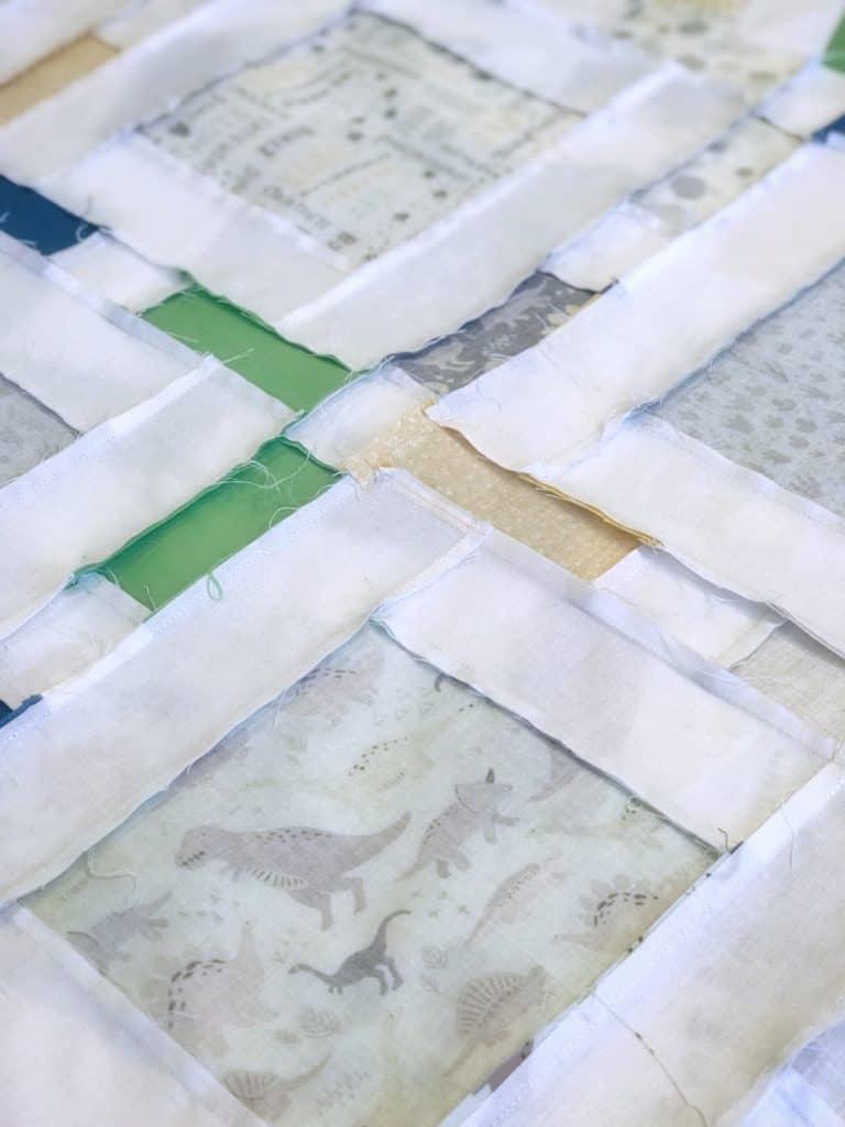 Dinosaur Quilt with Cricut Maker - Housewivesofriverton.com