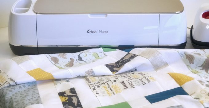 Make a Dinosaur Quilt with your Cricut Maker – Part 1