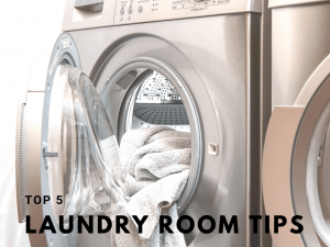 Top 5 laundry room tips