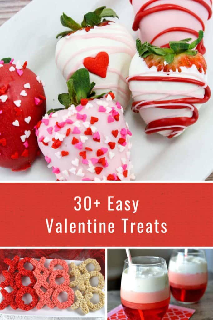 30+ Easy Valentine Treats
