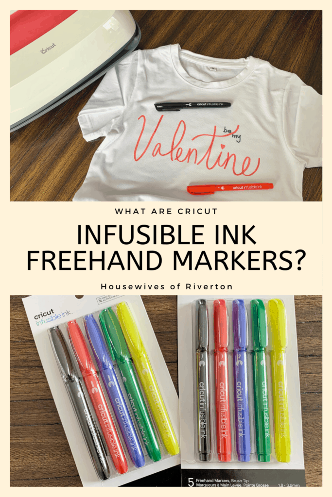 Cricut Infusible Ink Freehand Markers - pinterest