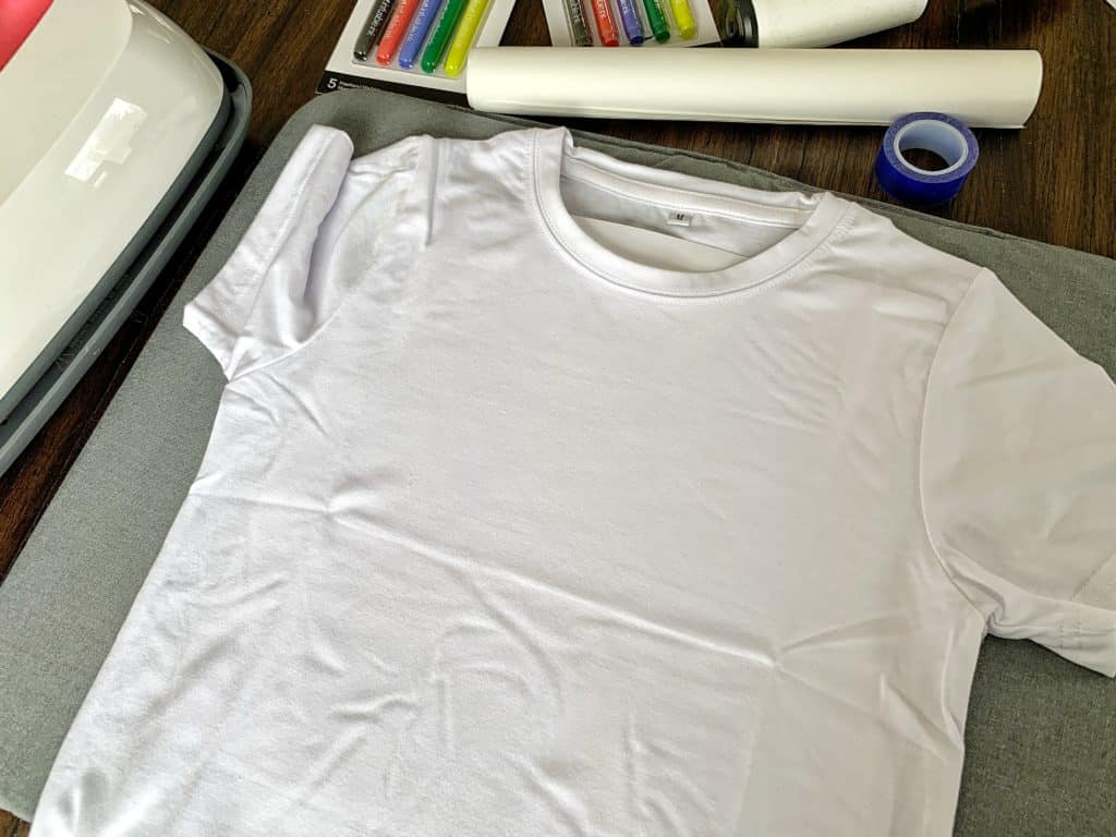 Infusible Ink Freehand Markers - cardstock inside shirt