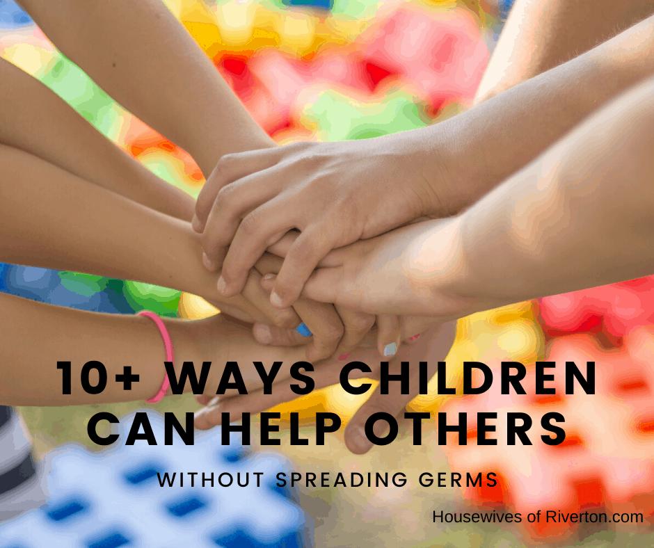 Children can help others - header