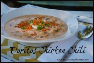 Doritos Chicken Chili Recipe