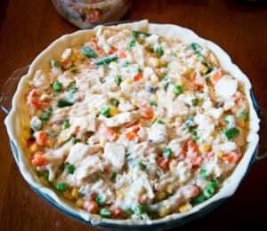 Easy Homemade Chicken Pot Pie Recipe
