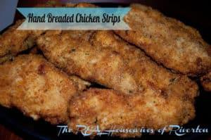 Hand Breaded Chicken Strips