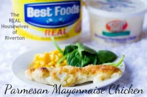 Parmesan Mayonnaise Chicken Recipe