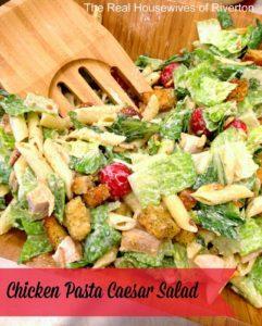Chicken Pasta Caesar Salad Recipe