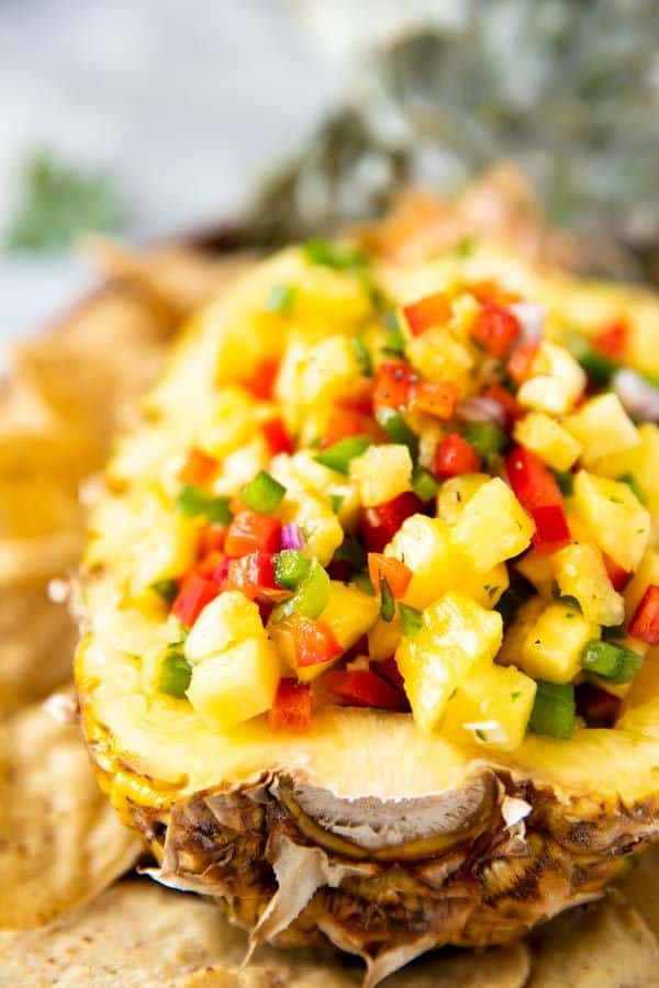 Easy Pineapple Salsa Recipe