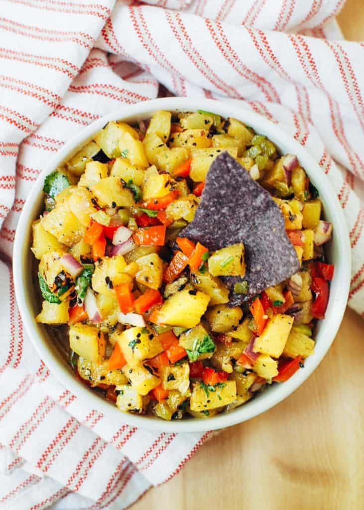 Grilled Pineapple Fruit Salsa Recipes