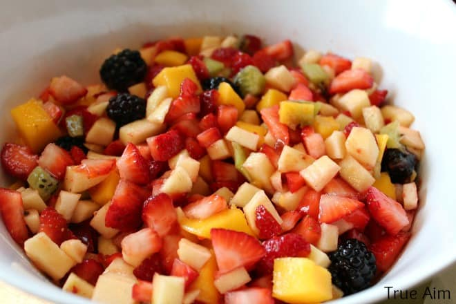 Easy Kids Fruit Salsa Recipe