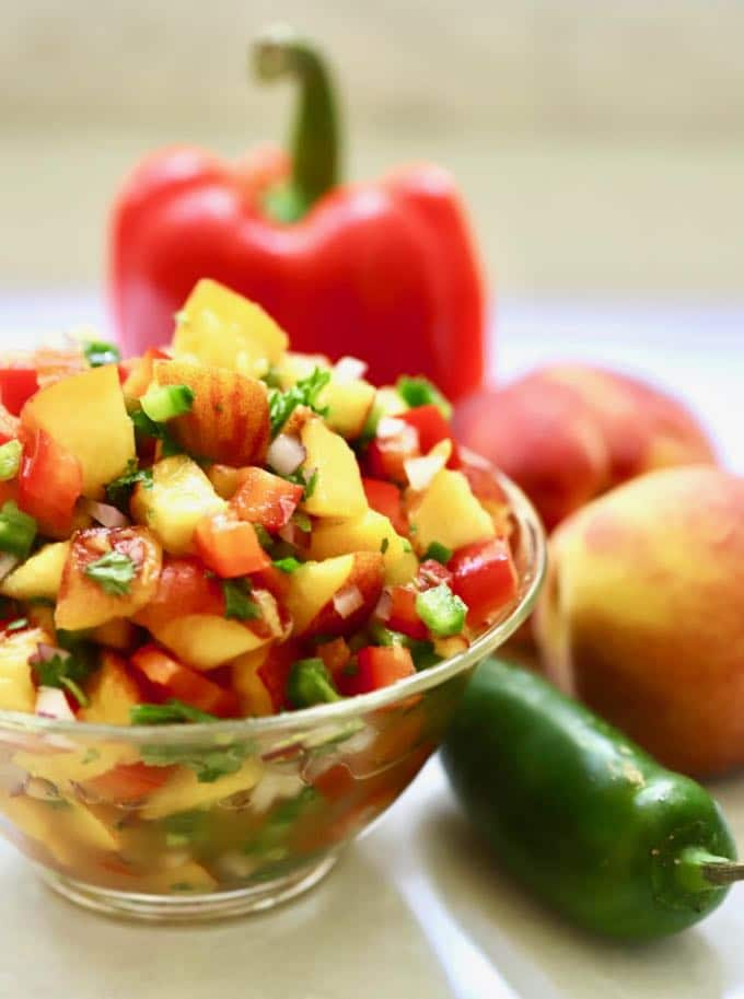 Peach Fruit Salsa Recipes