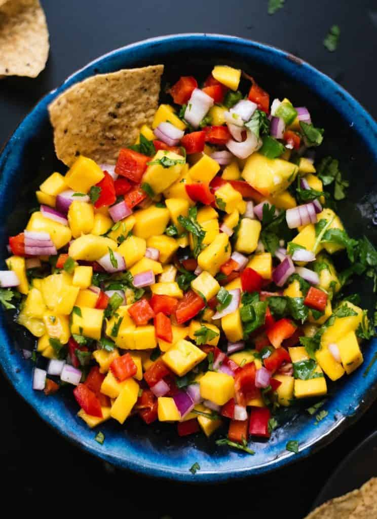 Mango Fruit Salsa Recipes