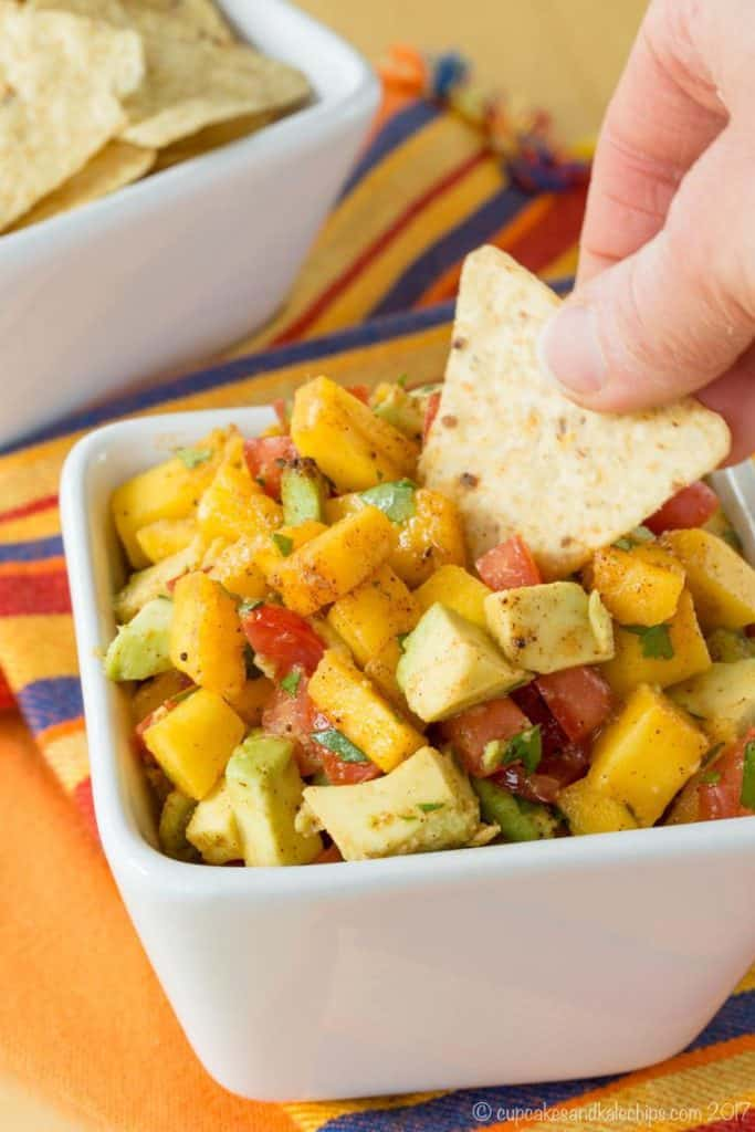 Mango Avocado Fruit Salsa Recipes
