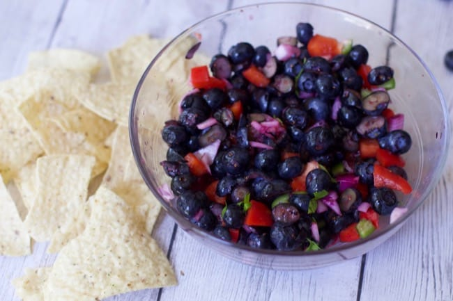 Blueberry Fruit Salsa Recipes