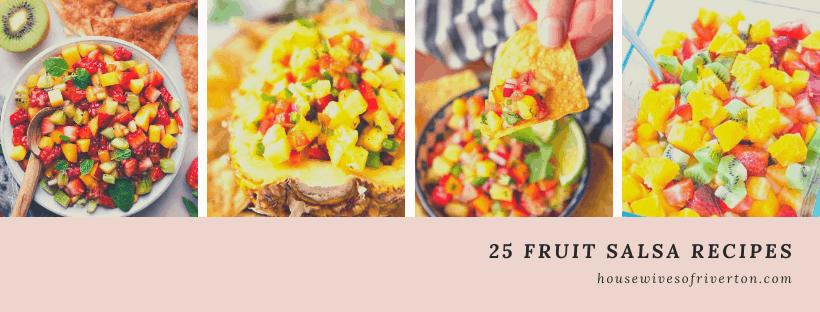 25 Fruit Salsa Recipes - header