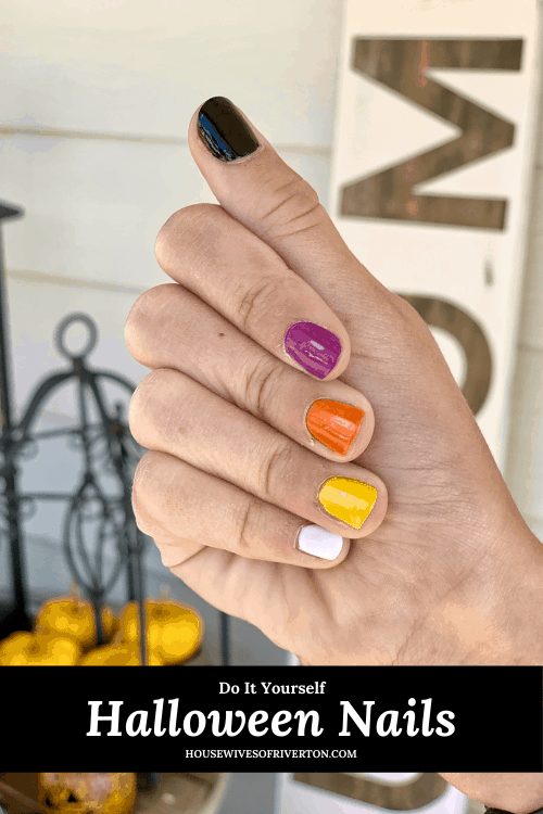 DIY Halloween Nails