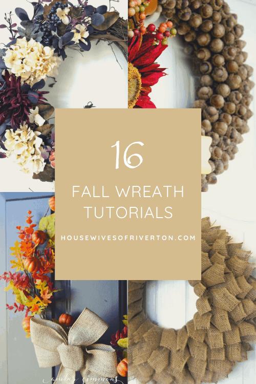Fall Wreath Tutorials - header