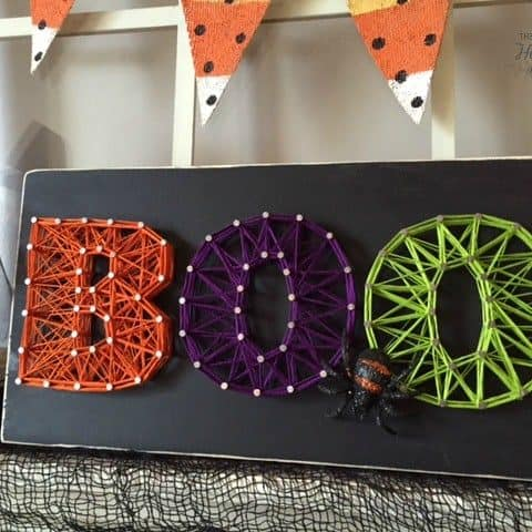 Halloween String Art