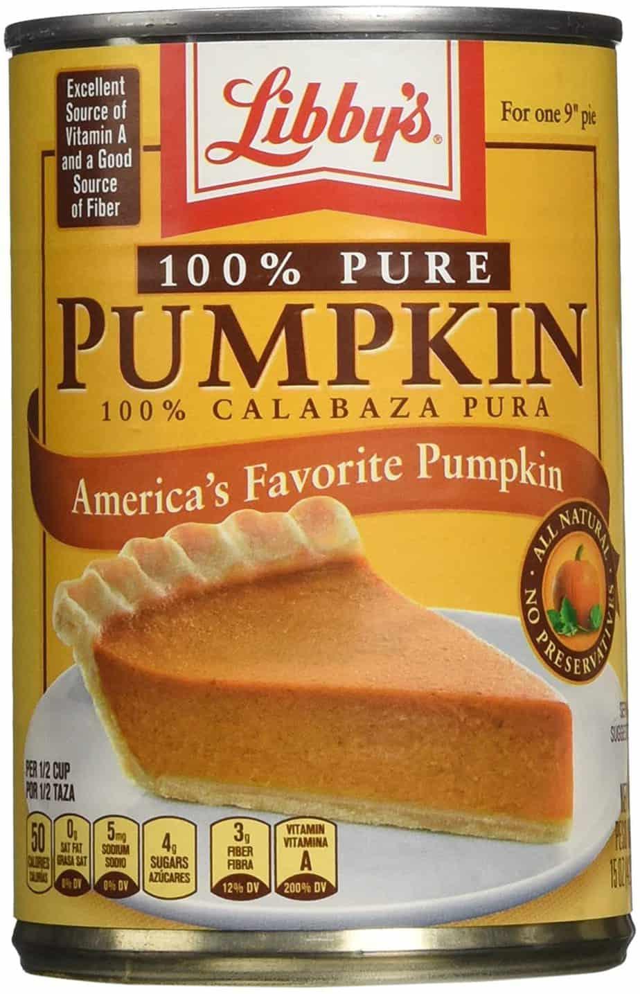 Libby's Pumpkin Puree