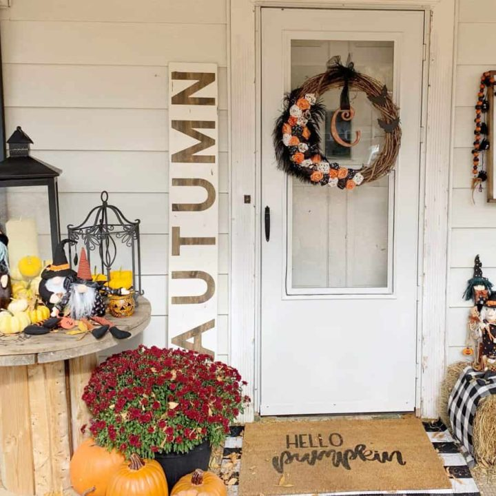 6' Autumn Porch Sign Tutorial