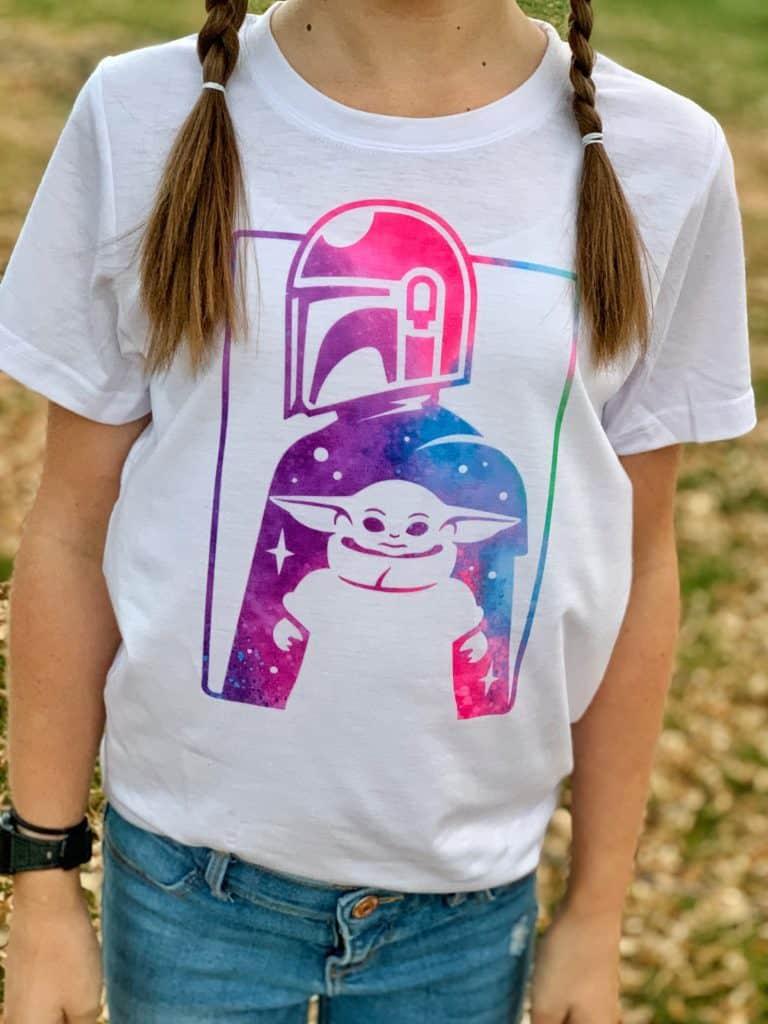 Mandalorian Baby Yoda Shirt
