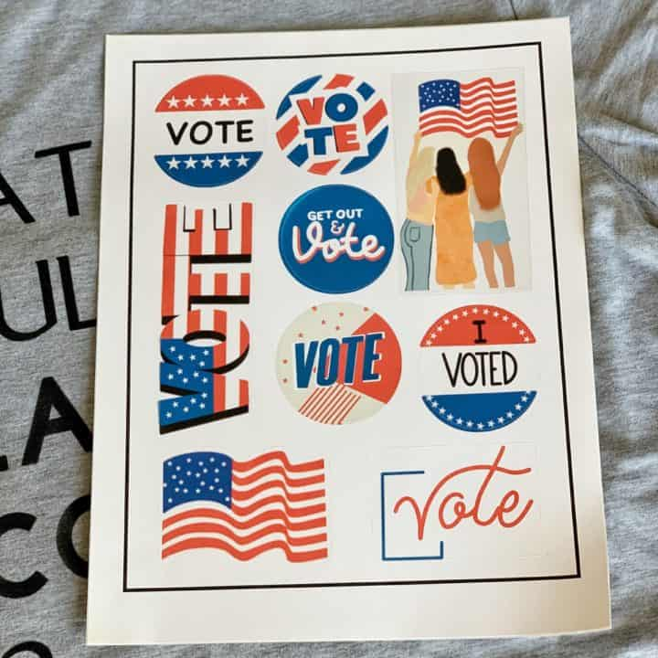 Election Day Stickers
